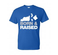 Kentucky Born & Raised T-Shirt